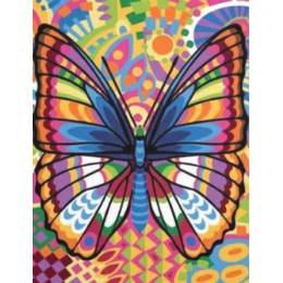 Canevas 36/47 antique Papillon - 55