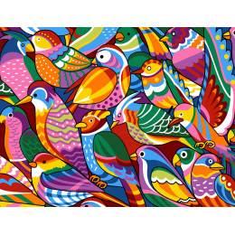 Colored birds - 55