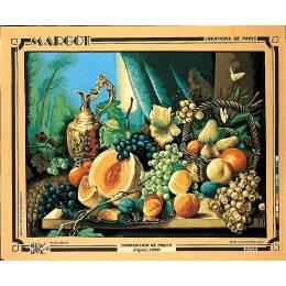 Canevas 51/66 fruits - 55