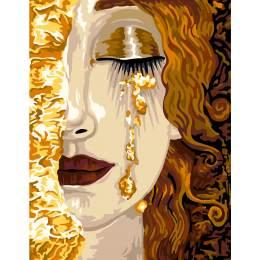 Canevas 51/66 les larmes d'or de freyja - 55