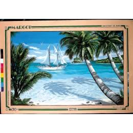 Canevas 61/93 tropiques - 55