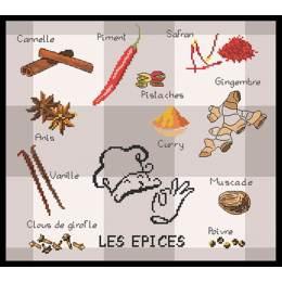 Les épices - 55