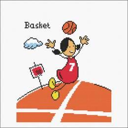 Kit point compté Le basket - 55