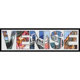 Venise kit marie coeur toile aïda 30/75 - 55