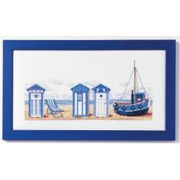 Cabine de plage kit marie coeur 30/45 - 55