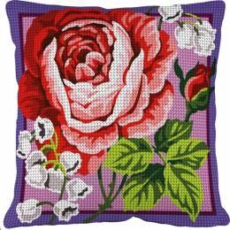 Kit coussin 40/40 Muguet et rose - 55
