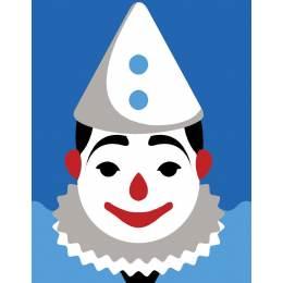 Clown blanc - 55