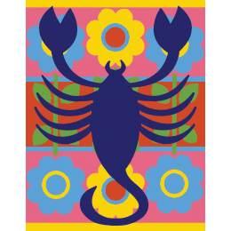 Scorpion couleur - 55