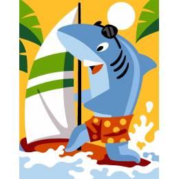 requin planche a voile - 55