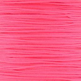 Cordon de jade Ø 0,7mm rose fluo - 56