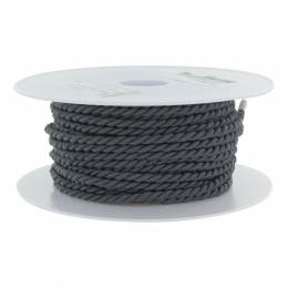 Cordon polyester Ø 3,5mm orage - 56