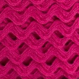 Serpentine coton fuchsia
