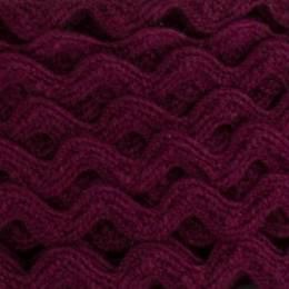 Serpentine coton bordeaux