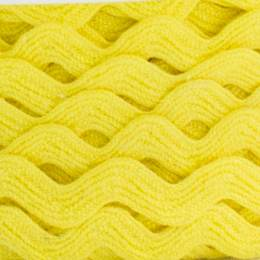 Serpentine coton jaune