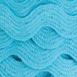 Serpentine coton turquoise