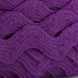 Serpentine coton violet