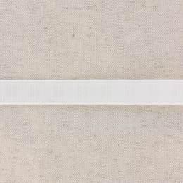 Monte jupe tramé crin 15mm blanc - 58