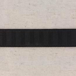 Monte jupe tramé crin 25mm noir - 58