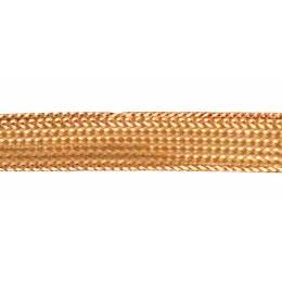 Ruban lurex tresse cuivré 6mm - 58