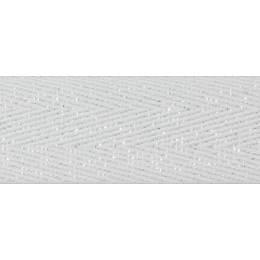 Sergé coton chevrons fil lurex 8mm - 58
