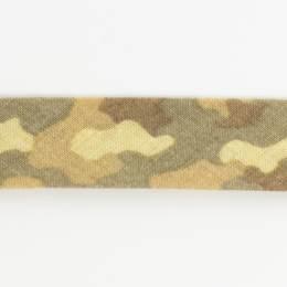 Biais camouflage 36/18 beige - 58