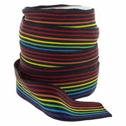 Bande jersey multicolore 40 mm - 6