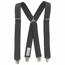 Bretelles tissées 35mm noir - 62