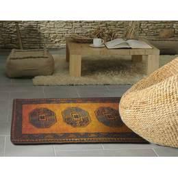 Tapis smyrnalaine en kit Gold afghan 50x100 - 64