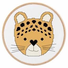Tableautin petit leopard - 64
