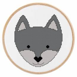 Tableautin petit loup - 64