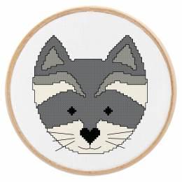 Tableautin petit raton-laveur - 64