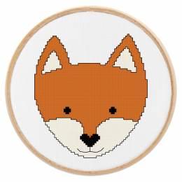 Tableautin petit renard - 64