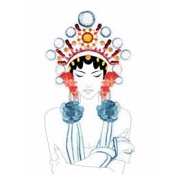 Kit princesse Chinoise - 64