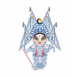 Kit princesse Opera chinois - 64