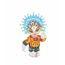 Kit princesse Theatre chinois - 64