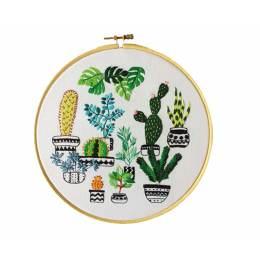 Tableau jardin tropical - 64