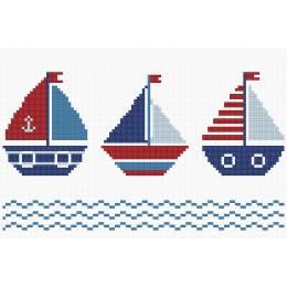 Tableautin les 3 petits bateaux - 64