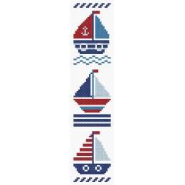 Marque page bateaux - 64