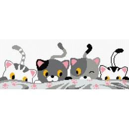 tableau petits chats - 64