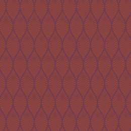Tissu feuillage violet sienne - 64