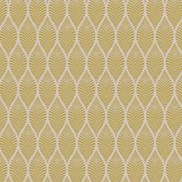 Tissu feuillage beige jaune - 64