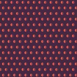Tissu pois bicolore violet - 64