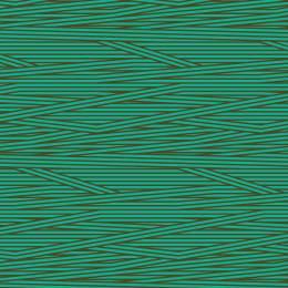 Tissu rayures turquoise kaki - 64