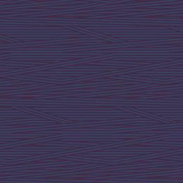 Tissu rayures marine aubergine - 64