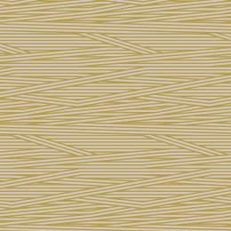 Tissu rayures beige jaune - 64