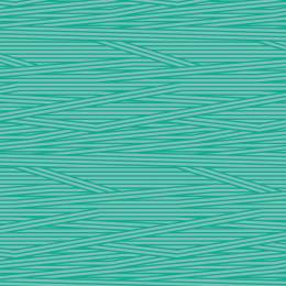 Tissu rayures eau turquoise - 64