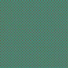 Tissu petite rosace turquoise sienne - 64