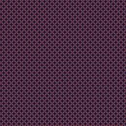 Tissu petite rosace violet nuit - 64