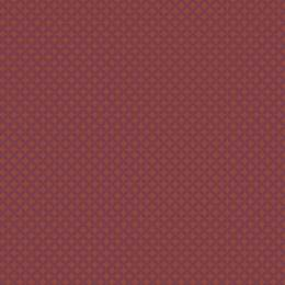 Tissu petite rosace violet sienne - 64