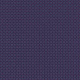 Tissu petite rosace marine aubergine - 64